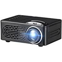 Hometom LED Movie projector, Multimedia Home Theater Video projector Support 1080P HDMI USB SD Card VGA AV