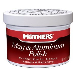 Mothers Mag & Aluminium Metal Polish 10oz for most metals **COMPLETE KIT**