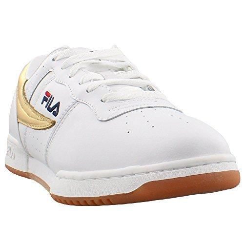 Fila Original Fitness Low - 13 White & Gold