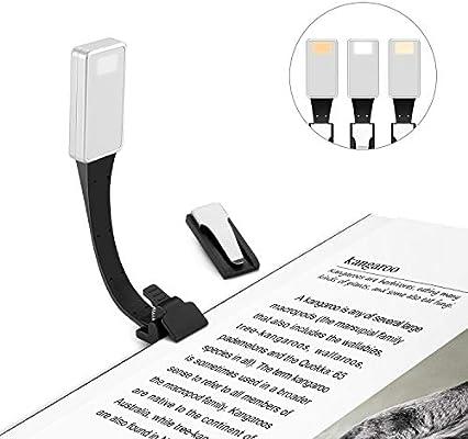 Ayotu Magnetic Clip-on LED Lámpara de luz de lectura flexible ...