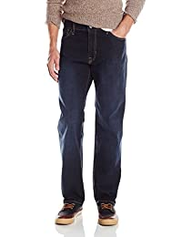 Izod mens Comfort Stretch Relaxed Fit Jean