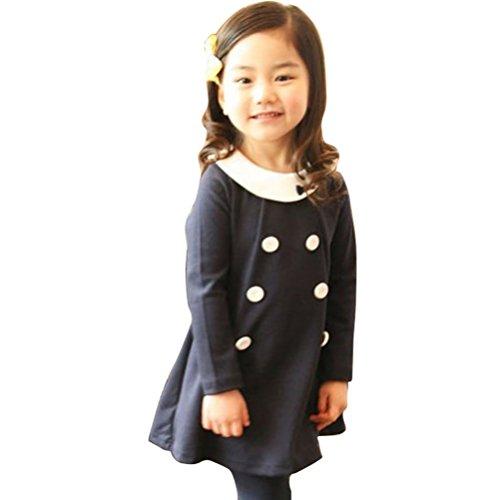 Little Hand Little Girls' Shirts Pink Princess Dress Size 3-8 Years