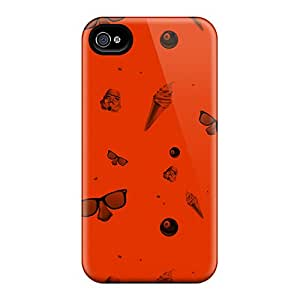 Premium Hodgepodge Back Cover Snap On Case For Iphone 4/4s
