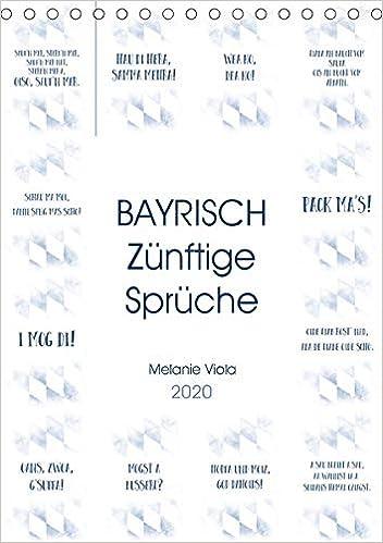 Bayrisch Zünftige Sprüche Tischkalender 2020 Din A5 Hoch