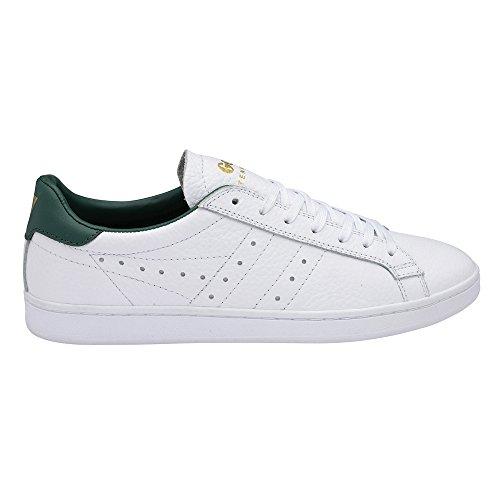 GOLA, Tennis 79, Herren Retro Sneaker, Leder White/Green, Gr. 42
