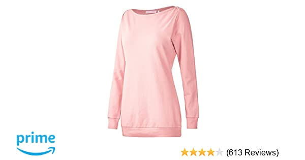 Regna X Long Sleeve Loose Casual Pullover Cute Tunics Sweatshirts for Women  (S-3x e7d32130e
