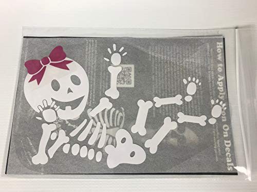 Baby GIRL Skeleton DIY Iron-on -