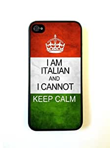 Italian Keep Calm iphone 4 Cover Iphone 4s Case - For iphone 4 Cover Iphone 4...