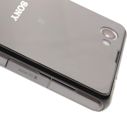 Sony Xperia Z1 Compact Screen Protector + Full Body, Skinomi TechSkin Full Coverage Skin + Screen Protector for Sony Xperia Z1 Compact Front & Back Clear HD Film