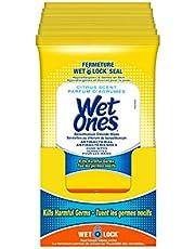 Wet Ones Antibacterial Hand Wipes, Citrus Scent, Wet Wipes, 20 Count (Pack of 10)