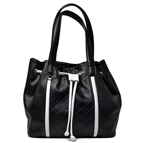 z MID BAG JL6931NE WOMAN, NEW COLLECTION SPRING SUMMER 2016 LEATHER BLACK (Jennifer Lopez Bags)