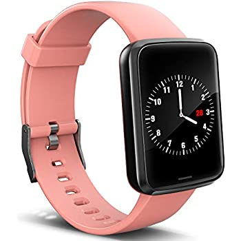 Amazon.com: Smart Watch for Android and iOS Phone, All-Day ...