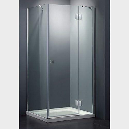 Cabina de ducha de súper lujo y con un cristal de 8 mm de espesor: Amazon.es: Hogar