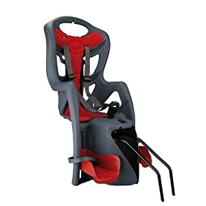 Profex - Silla infantil para bicicleta, color gris