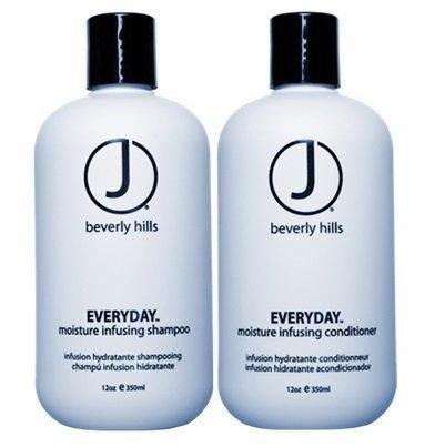 J Beverly Hills Everyday Shampoo 12 oz + Conditioner 12 oz