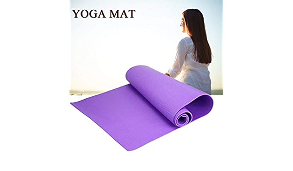likkas 6mm Universal Thick Non-Slip Yoga Mat Exercise Pad ...