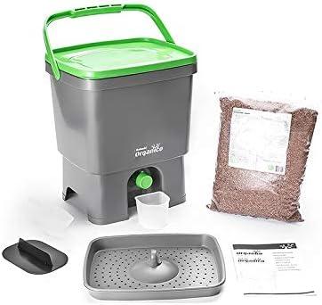 Vivre-Mieux Bokashi - Compostador orgánico y activador, Color según disponibilidad: Amazon.es: Hogar