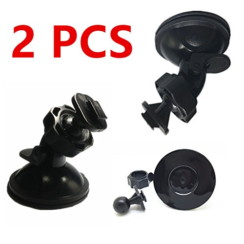 CINDISON Mini Camera Suction Mount for Dashcam Cam Camera DVR Video Recorder G1W, G1WH, G1WC, G1W-B, LS330W, LS400W,GT300W ()