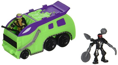 [Teenage Mutant Ninja Turtles Micro Mutant Garbage Truck with 1.15