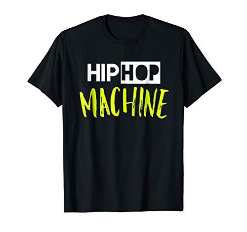 Hip Hop Machine Dance Tshirt by Hip Hop Dance Shirts by Zee