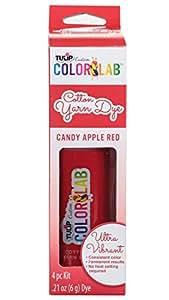 Tulip 34648 Custom Color Lab Cotton Yarn Dye, Candy Apple Red