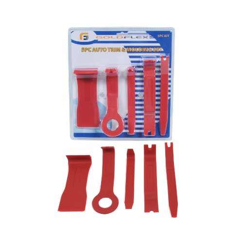 Goldflex 5 Piece Trim Tool Removal Kit No Scratch Body Work Trim And Molding Removal For