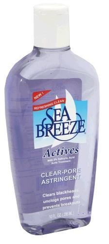 4 Pack - Sea Breeze Actives Clear Pore Astringent 10oz Each Babor - Skinovage PX Sensational Eyes Cooling Eye Gel -20ml/0.68oz