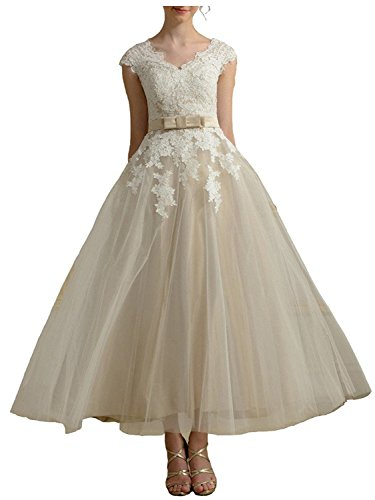 AbaoWedding-Womens-Lace-Applique-V-neck-Cap-Sleeve-Elegant-Prom-Gown