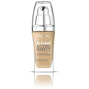 L'Oréal - Accord Perfect Rosy Natural - Maquillaje fluido - 30 ml