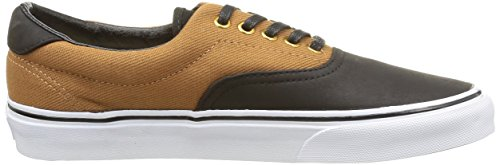 Vans Unisex Era 59 Skateschoenen Rubber / Zwart