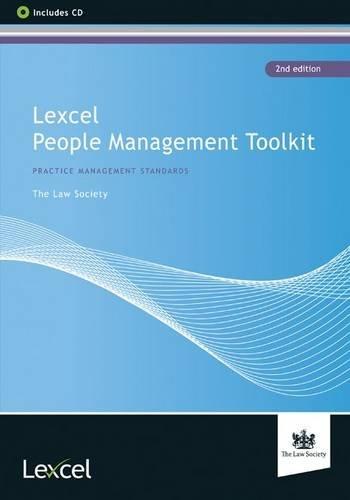 Lexcel People Management Toolkit pdf epub