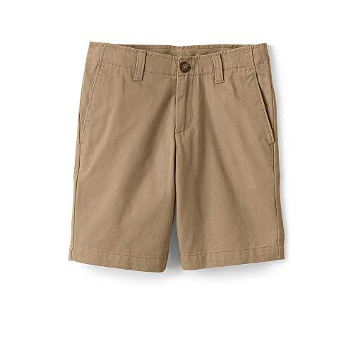 (Lands' End Boys Slim Chino Cadet Shorts, 16, Light)