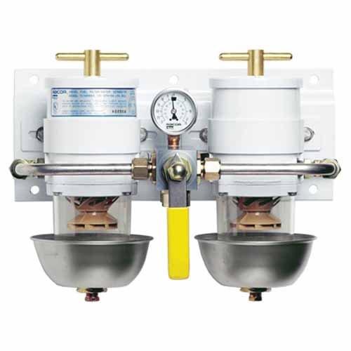 Racor Max-Dual Ff/Ws Rotary Valve (Turbine Aquabloc Racor)
