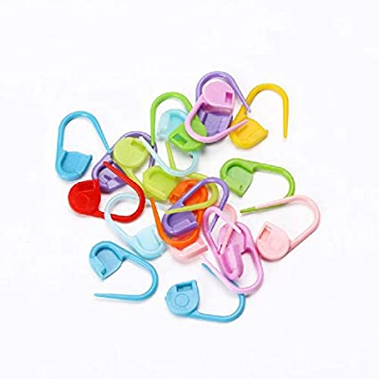 Pins & Pincushions 20pcs Colorful Knitting Stitch Markers