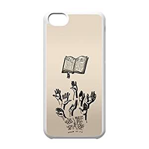 The Holy Bible logo for iPhone 5C hard back case