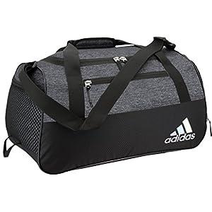 adidas Women's Squad III Duffel Bag, One Size, Black Jersey/Black