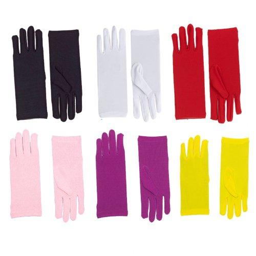 Forum Novelties White Short Dress Gloves -