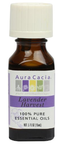 Aura Cacia Essential Oil Blend, Lavender Harvest, 0.5 fluid