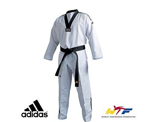 Adidas combattente taekwondo dobok (strisce) 5 / 190cm w / b comprare