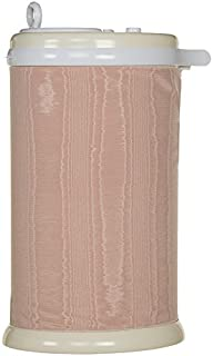 product image for Glenna Jean Remember My Love Ubbi Diaper Pail Cover, Pink Pintuck