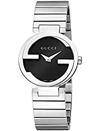 cc261225c29 Women s Interlocking Watch - Silver Black · Gucci