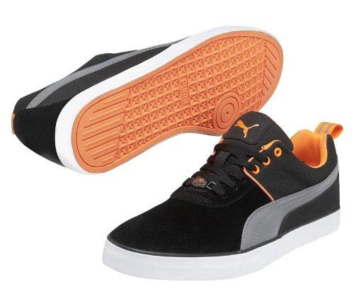 Puma Mens Grimme Lo S Sneaker Nero / Grigio / Arancione