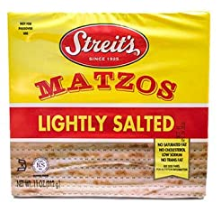 Streits, Lightly Salted Matzo, 11oz (3 P...