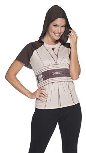 Rubie's Adult Star Wars Jedi Knight Rhinestone Costume T-shirt, Large