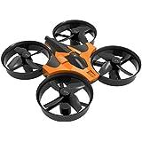YJYdada Mini 2.4G 4CH 6Axis Gyro Headless Altitude Hold LED Remote Control RC Quadcopter Drone (Orange)