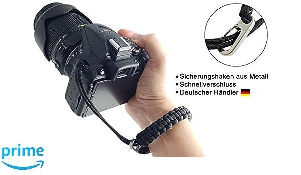 Mind Care Essentials Correa de mano para cámara réflex o cámara ...