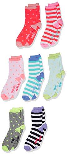 OshKosh B'Gosh Big Girls' Oshkosh Crew Socks Days of the ...