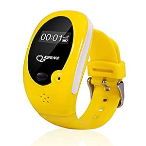 DOLIROX GPS AGPS LBP 3 Positioning Kids Smart Watch Kids Tracker with Phone Call function, Best Gift For Kids (Yellow)