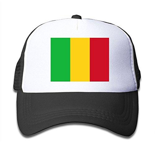 new Futong Huaxia Flag Of Senegal Boy & Girl Grid Baseball Caps Adjustable sunshade Hat For Children for cheap