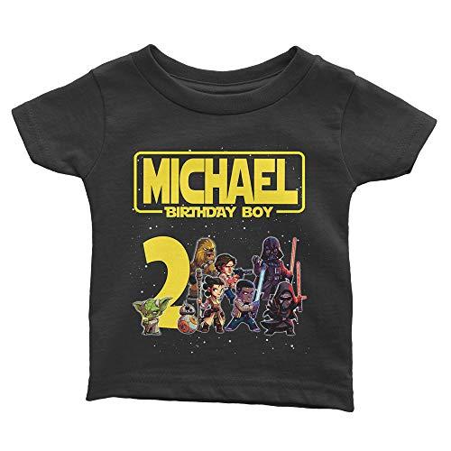 Personalize Star Wars Birthday Shirt (Star Wars Birthday Shirt)